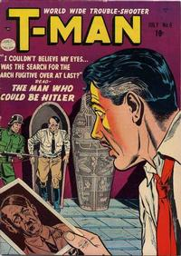 Cover Thumbnail for T-Man (Quality Comics, 1951 series) #6