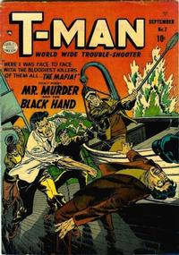 Cover Thumbnail for T-Man (Quality Comics, 1951 series) #7