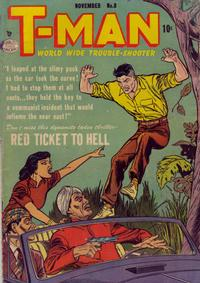 Cover Thumbnail for T-Man (Quality Comics, 1951 series) #8