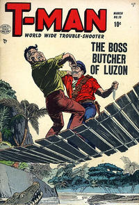 Cover Thumbnail for T-Man (Quality Comics, 1951 series) #10