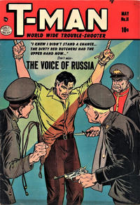 Cover Thumbnail for T-Man (Quality Comics, 1951 series) #11