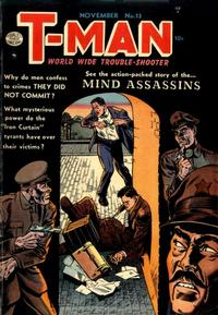 Cover Thumbnail for T-Man (Quality Comics, 1951 series) #13