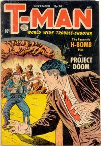 Cover Thumbnail for T-Man (Quality Comics, 1951 series) #20