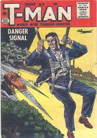 Cover Thumbnail for T-Man (Quality Comics, 1951 series) #29