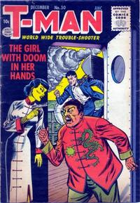 Cover Thumbnail for T-Man (Quality Comics, 1951 series) #30