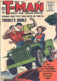 Cover Thumbnail for T-Man (Quality Comics, 1951 series) #31