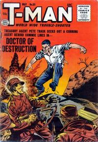 Cover Thumbnail for T-Man (Quality Comics, 1951 series) #35