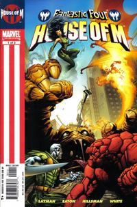 Cover Thumbnail for Fantastic Four: House of M (Marvel, 2005 series) #1 [Direct Edition]