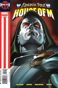 Cover Thumbnail for Fantastic Four: House of M (Marvel, 2005 series) #2