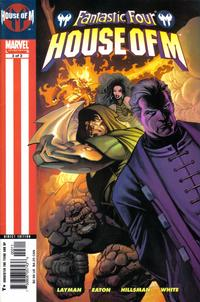 Cover Thumbnail for Fantastic Four: House of M (Marvel, 2005 series) #3