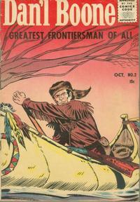 Cover Thumbnail for Dan'l Boone (Magazine Enterprises, 1955 series) #2