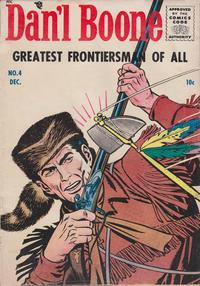 Cover Thumbnail for Dan'l Boone (Magazine Enterprises, 1955 series) #4