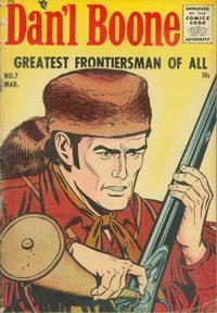 Cover Thumbnail for Dan'l Boone (Magazine Enterprises, 1955 series) #7