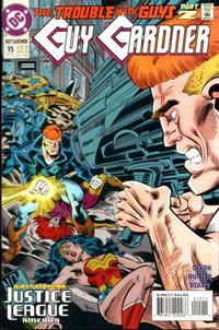 Cover Thumbnail for Guy Gardner (DC, 1992 series) #15 [Direct Sales]