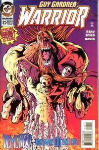 Cover Thumbnail for Guy Gardner: Warrior (DC, 1994 series) #25