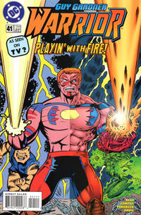 Cover Thumbnail for Guy Gardner: Warrior (DC, 1994 series) #41