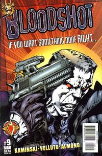 Cover Thumbnail for Bloodshot (Acclaim / Valiant, 1997 series) #9