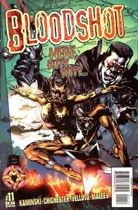 Cover Thumbnail for Bloodshot (Acclaim / Valiant, 1997 series) #11