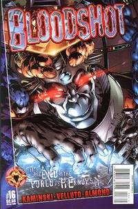 Cover Thumbnail for Bloodshot (Acclaim / Valiant, 1997 series) #16