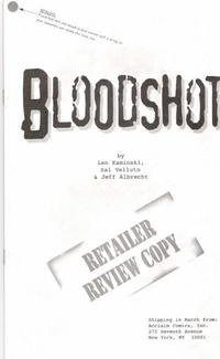 Cover Thumbnail for Bloodshot (Acclaim / Valiant, 1997 series) #1 [Preview Ashcan]