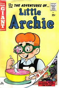 Cover Thumbnail for Little Archie Giant Comics (Archie, 1957 series) #13