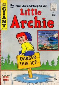 Cover Thumbnail for Little Archie Giant Comics (Archie, 1957 series) #14