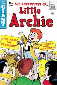 Cover Thumbnail for Little Archie Giant Comics (Archie, 1957 series) #16