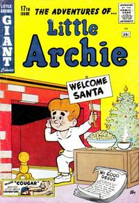 Cover Thumbnail for Little Archie Giant Comics (Archie, 1957 series) #17