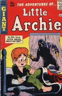 Cover Thumbnail for The Adventures of Little Archie (Archie, 1961 series) #19