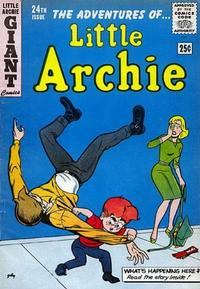 Cover for The Adventures of Little Archie (Archie, 1961 series) #24