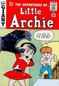 Cover Thumbnail for The Adventures of Little Archie (Archie, 1961 series) #28