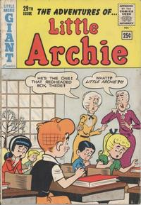 Cover Thumbnail for The Adventures of Little Archie (Archie, 1961 series) #29