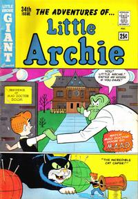 Cover for The Adventures of Little Archie (Archie, 1961 series) #34