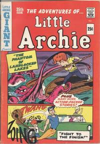Cover Thumbnail for The Adventures of Little Archie (Archie, 1961 series) #35
