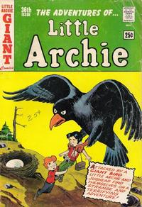Cover Thumbnail for The Adventures of Little Archie (Archie, 1961 series) #36