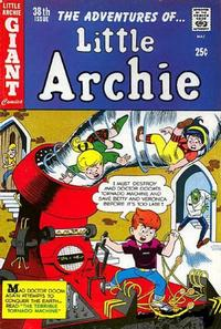 Cover Thumbnail for The Adventures of Little Archie (Archie, 1961 series) #38