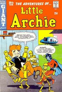 Cover Thumbnail for The Adventures of Little Archie (Archie, 1961 series) #39