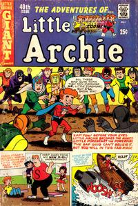 Cover Thumbnail for The Adventures of Little Archie (Archie, 1961 series) #40