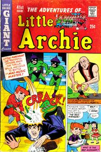 Cover Thumbnail for The Adventures of Little Archie (Archie, 1961 series) #41