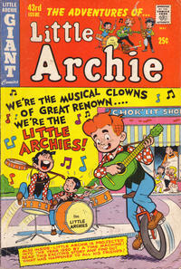 Cover Thumbnail for The Adventures of Little Archie (Archie, 1961 series) #43