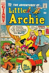 Cover Thumbnail for The Adventures of Little Archie (Archie, 1961 series) #50