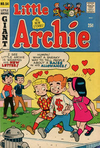 Cover Thumbnail for Little Archie (Archie, 1969 series) #54