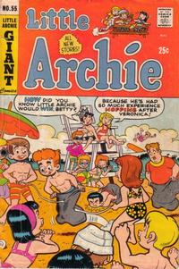 Cover Thumbnail for Little Archie (Archie, 1969 series) #55