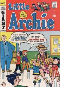 Cover Thumbnail for Little Archie (Archie, 1969 series) #57