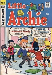 Cover Thumbnail for Little Archie (Archie, 1969 series) #58