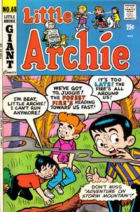 Cover for Little Archie (Archie, 1969 series) #68