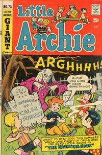 Cover Thumbnail for Little Archie (Archie, 1969 series) #73