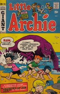 Cover Thumbnail for Little Archie (Archie, 1969 series) #74