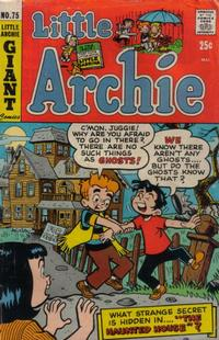 Cover Thumbnail for Little Archie (Archie, 1969 series) #75