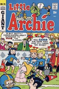 Cover Thumbnail for Little Archie (Archie, 1969 series) #76